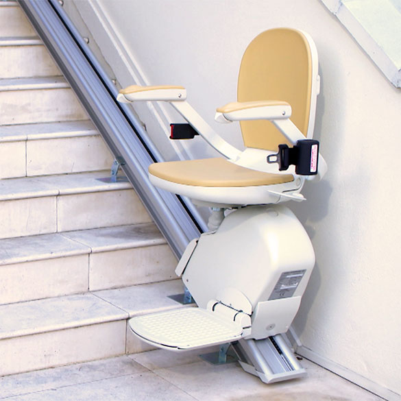 outdoor stairlift exterior stairway staircase acorn 130 outside