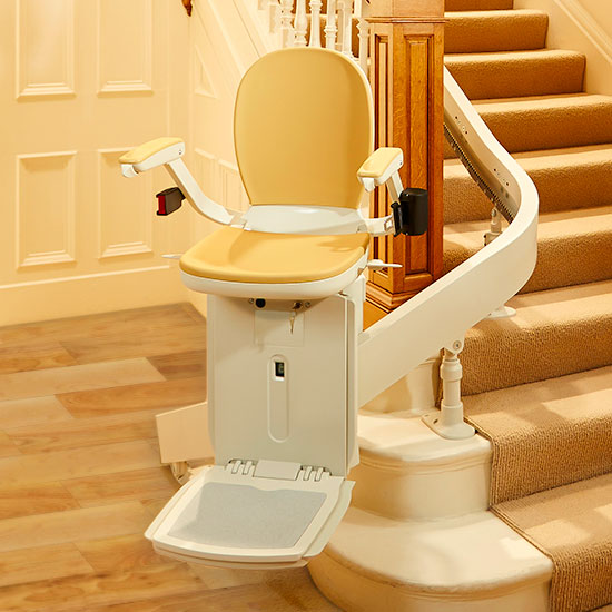 curved acorn 180 stairchair lifts