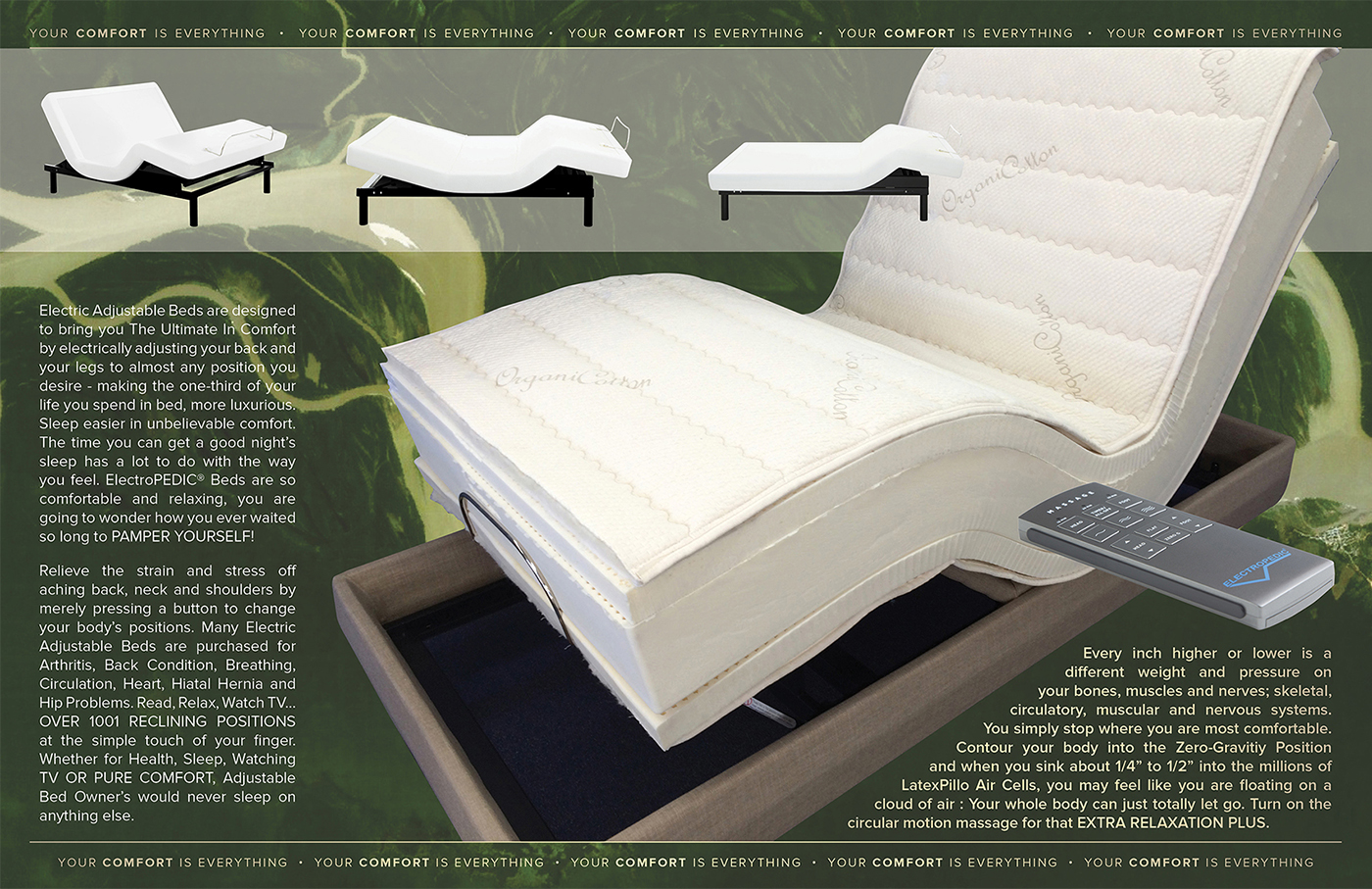 ADJUSTABLE BEDS HOUSTON TX ELECTRIC BED