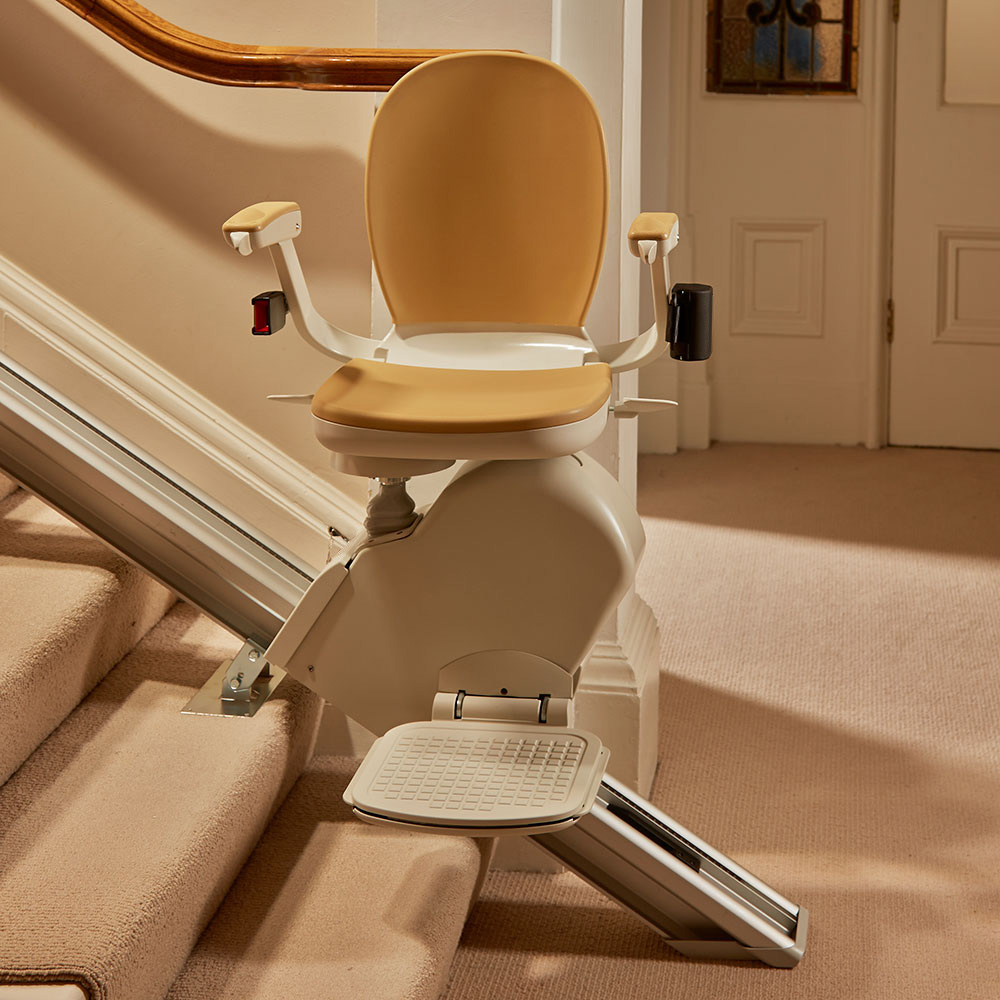Acorn 130 Stairlift - designed for straight staircases