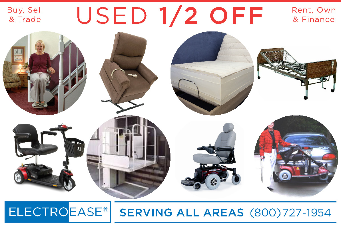 mobility 3 and 4 wheel scooters used cheap discount affordable inexpensive sale price cost houston tx adjustable beds recycled hospital bed seconds re-cycled bariatric heavy duty extra wide large medical mattresses