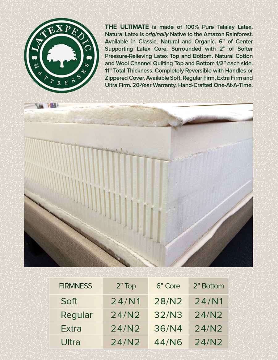 latex mattress garden grove organic beds santa ana